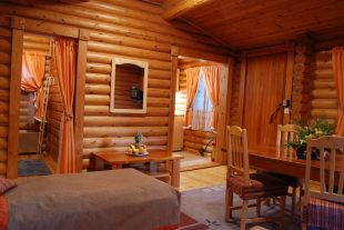 One of the rooms in Yagoda villas Borovets
