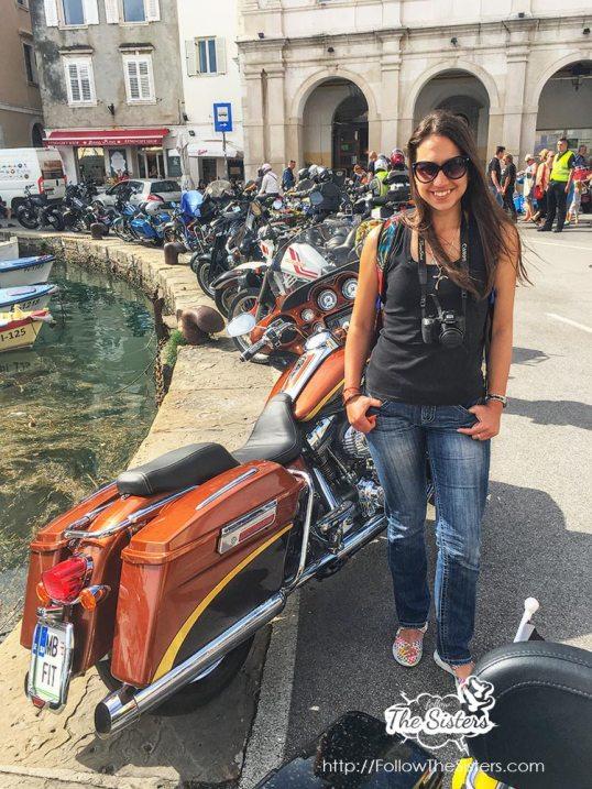 Harley Davidson Expo in Piran