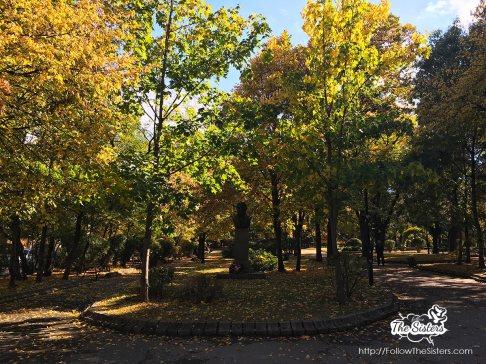 Dupnitsa, city garden