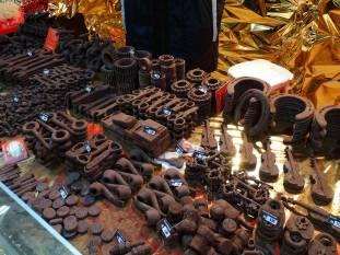 German Christmas Bazar, Sofia, Chocolates