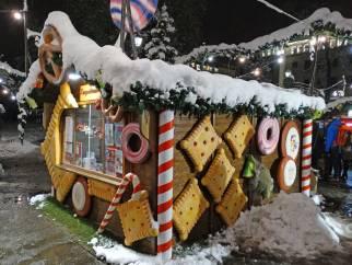 German Christmas Bazar, Sofia, Cookie House