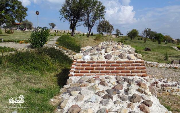 Tuida, Sliven, fortress wall