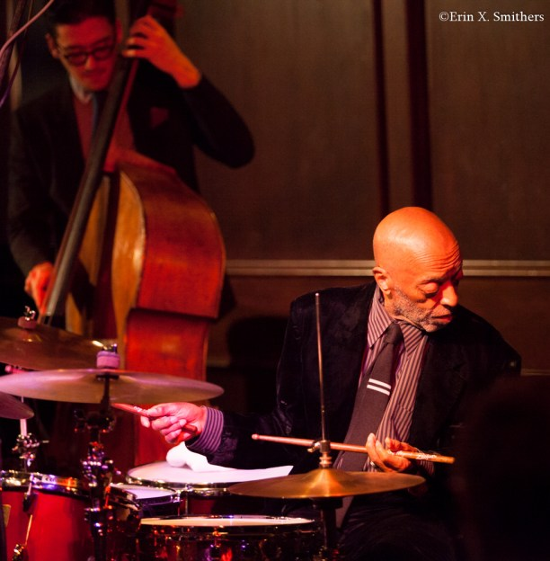 Roy Haynes on drums and David Wong on bass