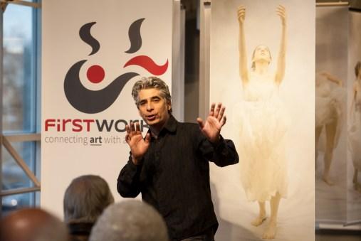 Noche Flamenca's artistic director Martin Santangelo