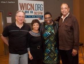 Marty Freidman, Joan Watson-Jones, Bonnie Jonson, and Frank Wilkins