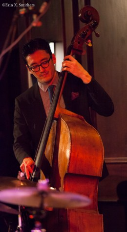 David Wong on bass.