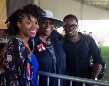 Alicia Olatuja, Bonnie Johnson, and Ambrose Akinmusire.