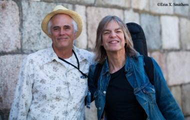 Lee Mergner of JazzTimes and Mike Stern