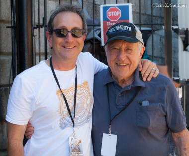 Danny Melnick of ALE and Fred Taylor of Scullers jazz Club in Boston. http://www.absolutelylive.net/