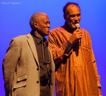 Bill Thompson and Leonard Brown
