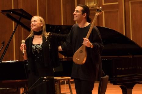 Dominique Eade and Nima Janmohammadi © Erin X. Smithers
