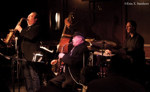 Phil Woods, Greg Abate, John Lockwood, Tim Ray and Mark Walker. ⒸErin X. Smithers