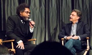 Dr. Cornel West and Director John Scheinfeld