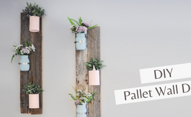 Diy Pallet Wall Decoration Follow The Sprinkles