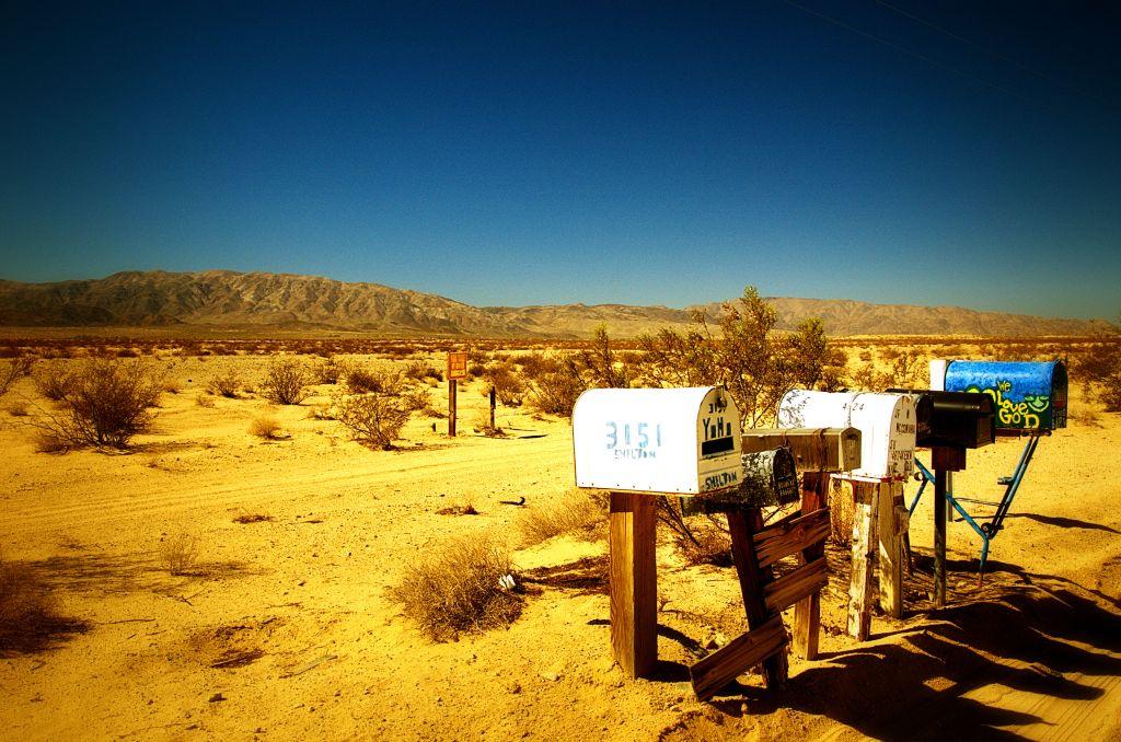 route 66 - droga 66 - pustynia