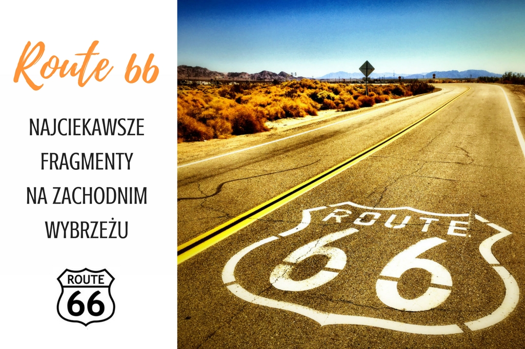 route 66 - droga 66 -mapa
