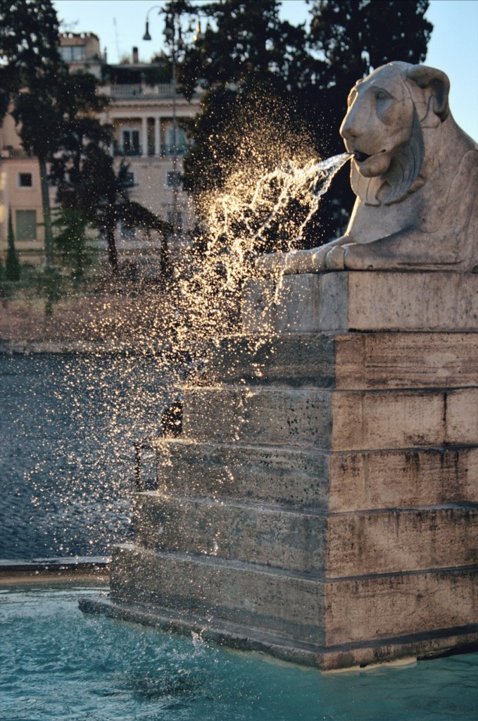 fountains of rome walk - roman fountains tour - fontana dell obelisco