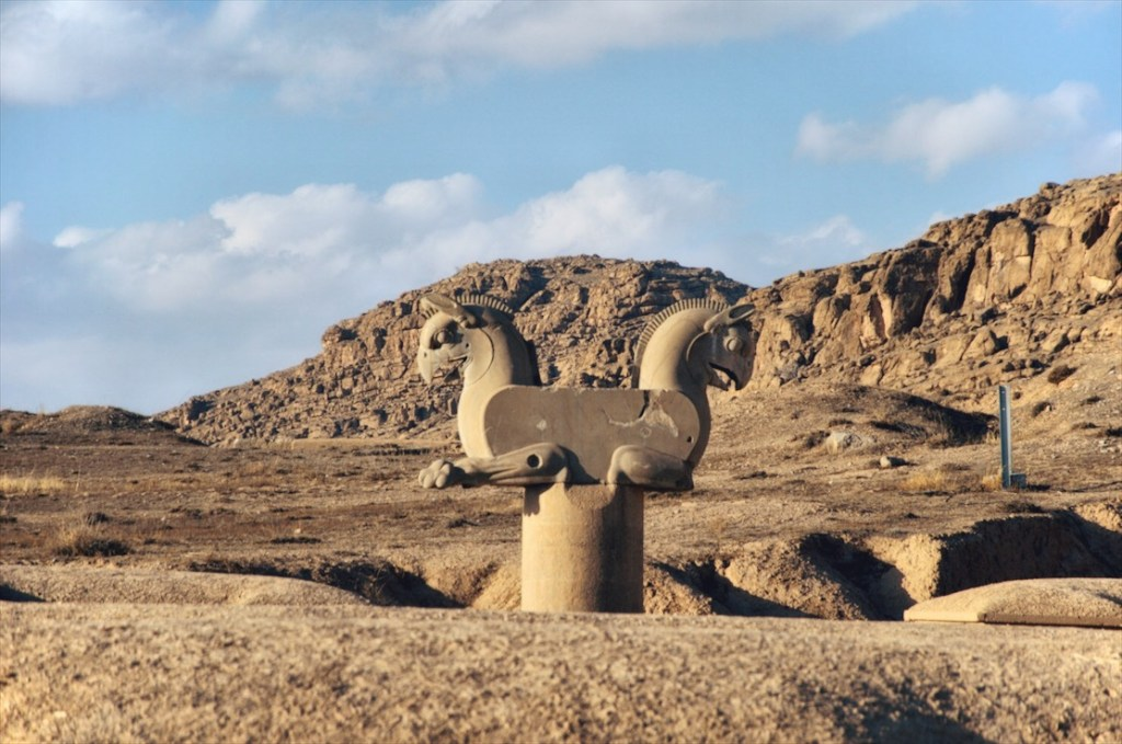 persepolis w iranie - informacje praktyczne - jak dojechać do persepolis - ptak homa