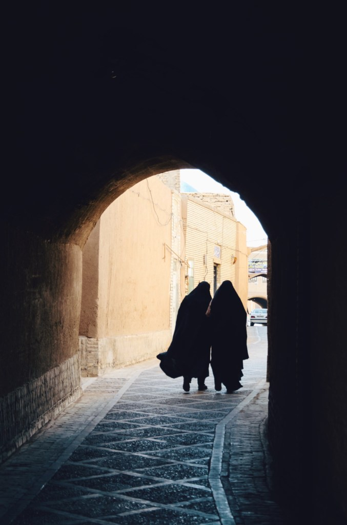 iran guide - travel to iran - women in yazd