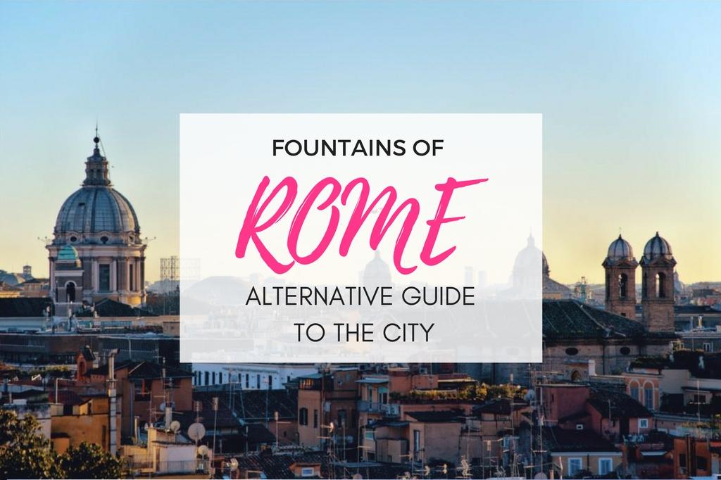 fountains of rome walk - roman fountains tour