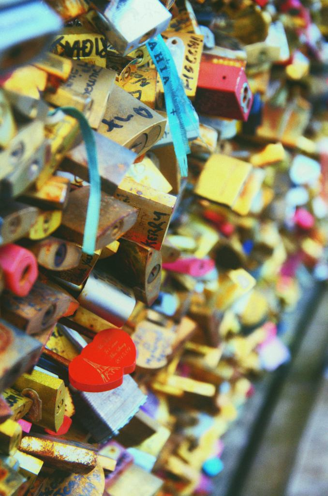 Romantic things to do in Paris - bridge with locks