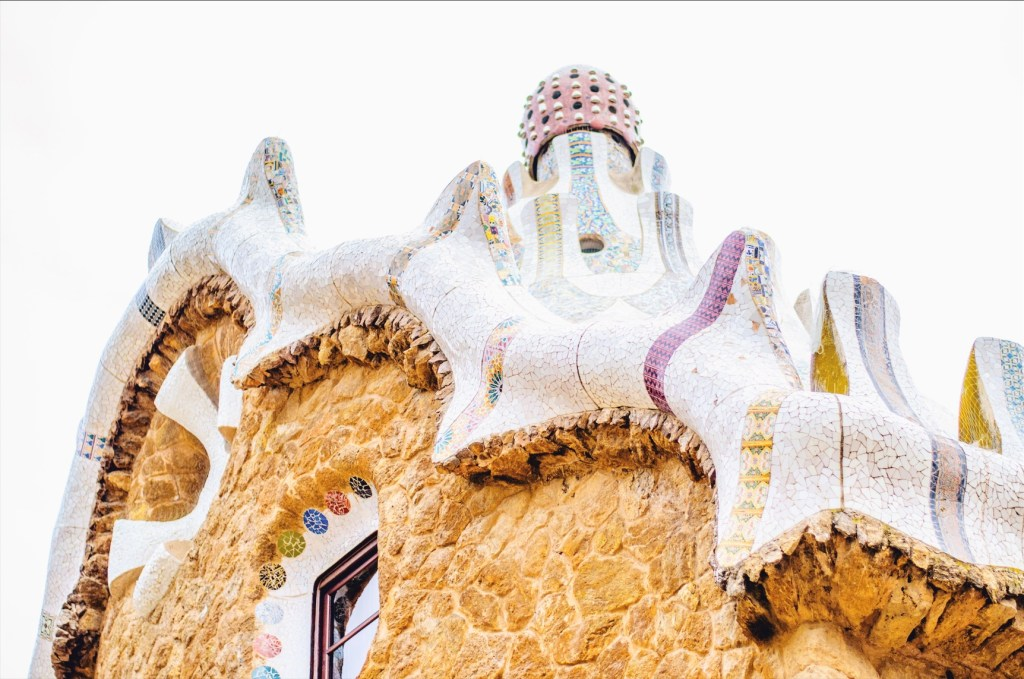 barcelona in winter - park guell