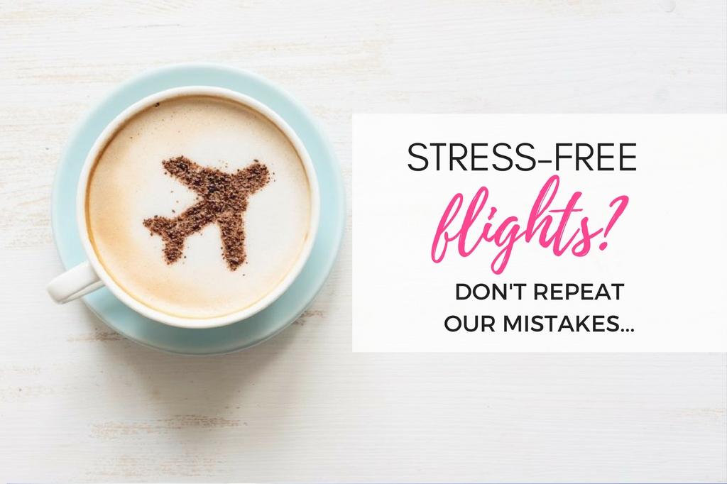 stress free flights tips