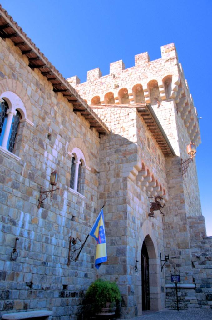 Dolina Napa Valley - Castello di Amorosa