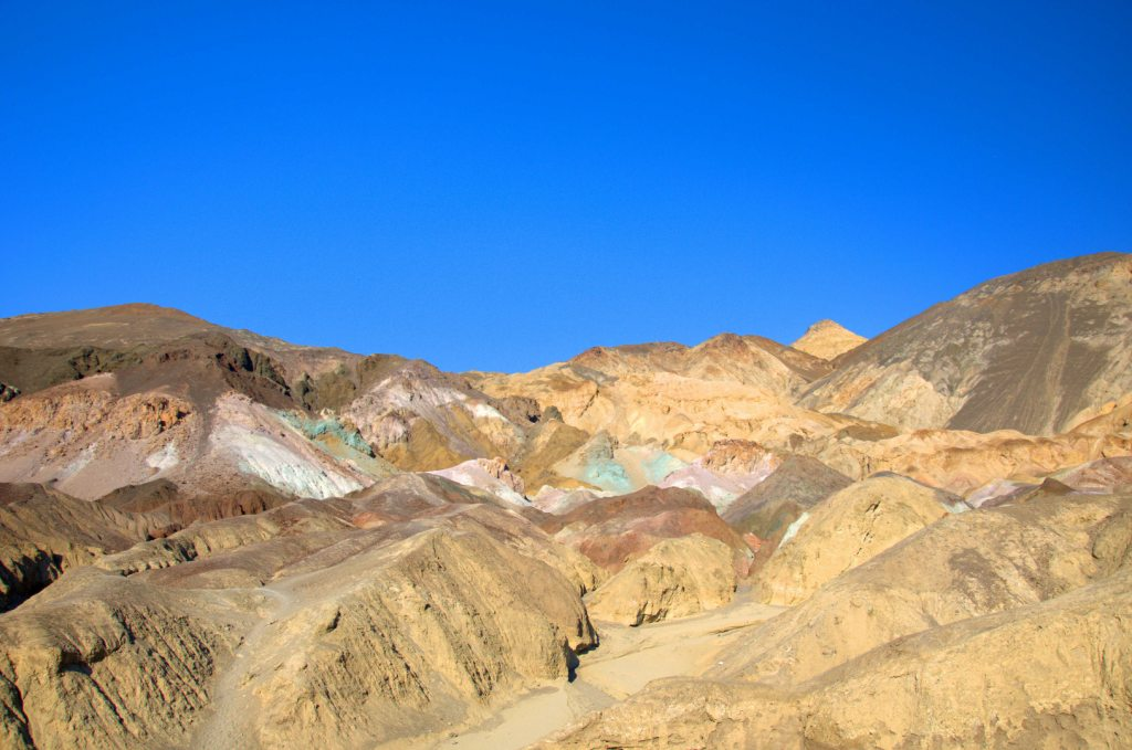 things to do in death valley - Artist's Palette