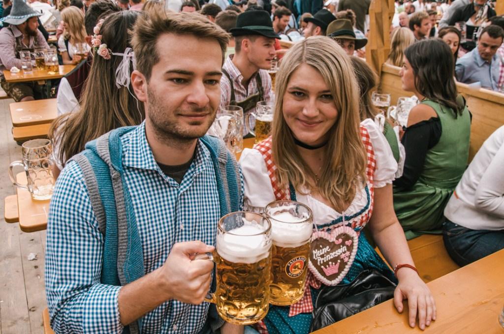 Paulaner beer Pktoberfest