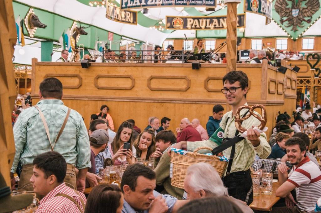 Paulaner Oktoberfest tent