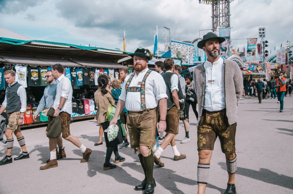Traditional Bavarian outfit