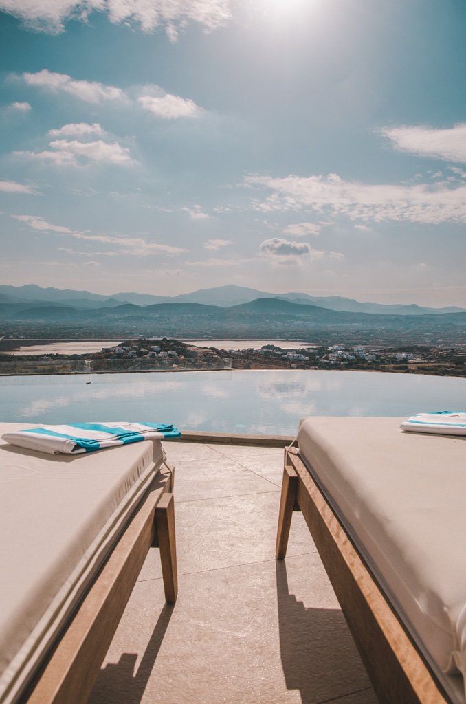 Naxos Rock Villas - taras