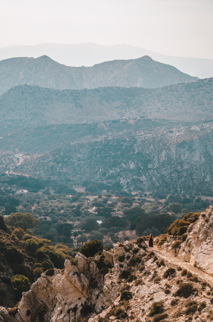 things to do in naxos - mount zeus