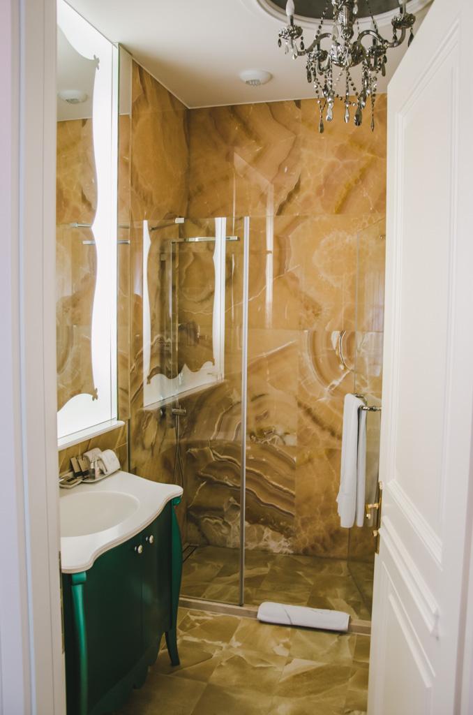 łazienka w Aria Hotel Budapeszt