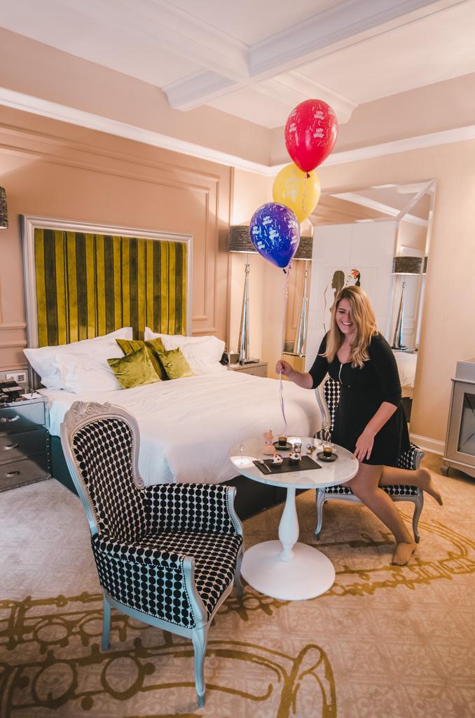 pokój w najlpeszym hotelu na świecie Aria Hotel Budapeszt