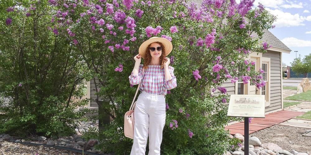 Summer gingham Kate Spade