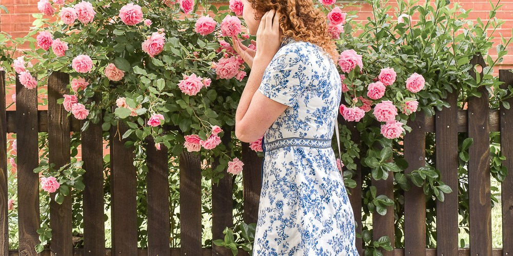 Darla cotton toile Gal Meets Glam Dress