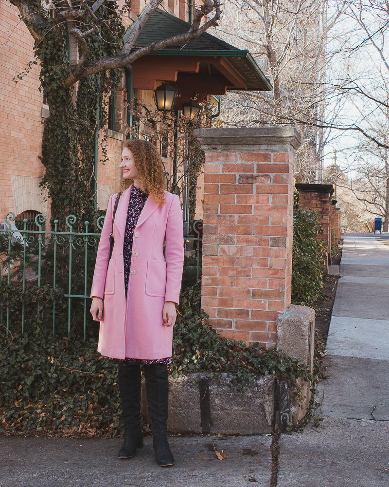 Lorelai Gilmore Pink Coat