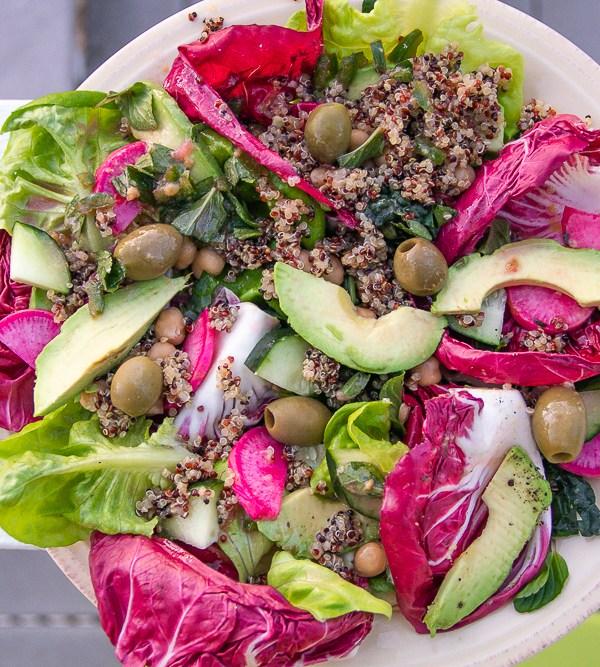 The Perfect Tuscan Radicchio Salad