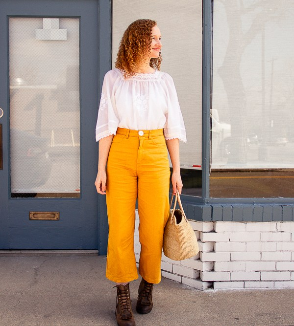 These Spring Yellow Pants Will Make You Happy