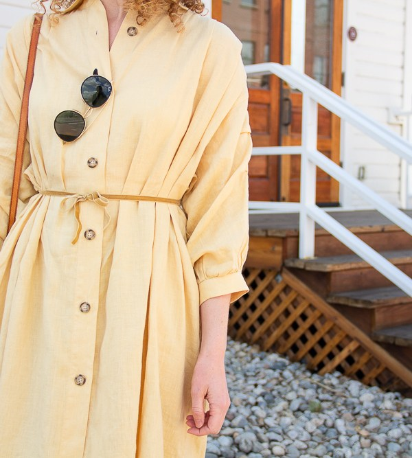 Esby Shirt Dress 2 Ways