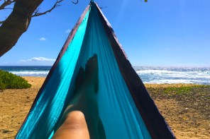Relaxing at the beach, Hawaii