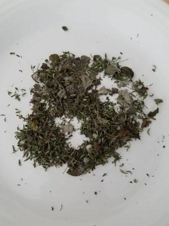 DIY Dried Herb Mix Rosemary, Sage, Thyme, Basil, Oregano
