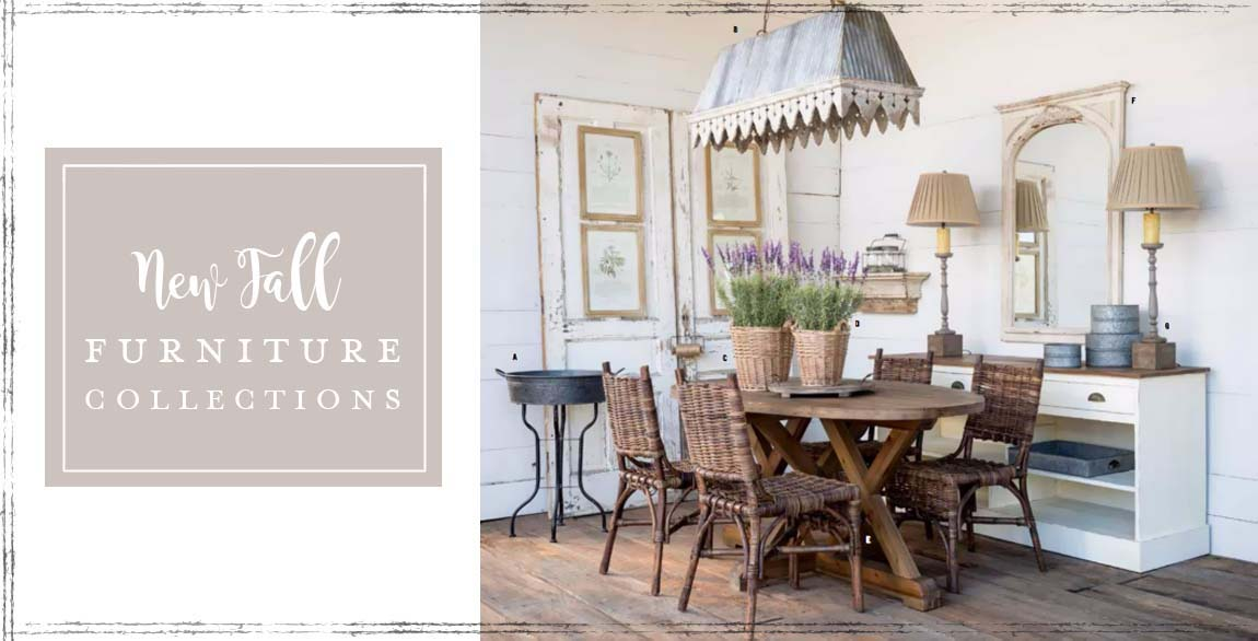 Shop for gorgeous French Country, Farmhouse, Cottage and Shabby Chic Furniture and Decor at Lavender Fields!