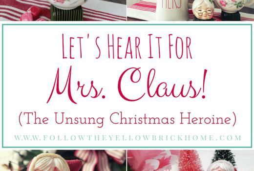 VIntage Mrs. Claus Collectible Ornaments