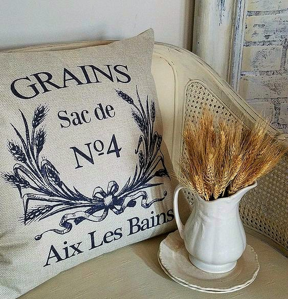 Fall pillow french pillow cover gains aix le bains pillow farmhouse french country pillows
