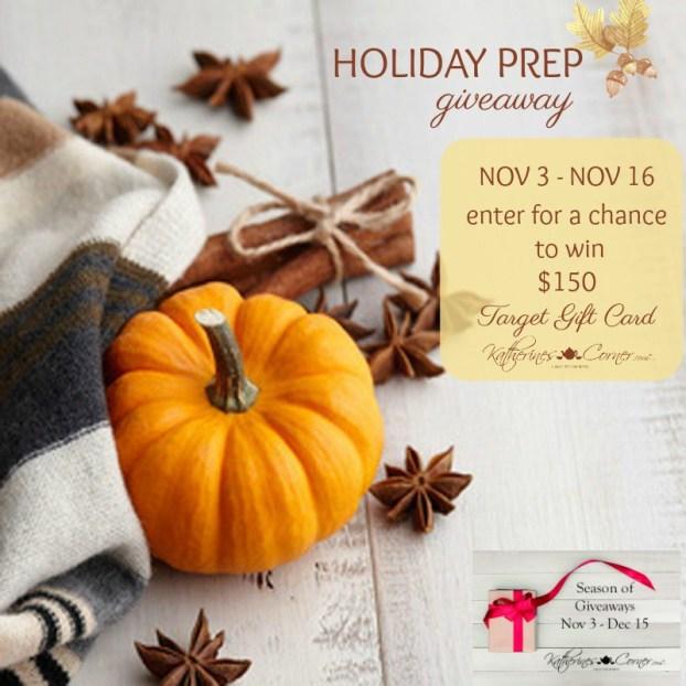 Holiday Prep Giveaway Season Of Giveaways