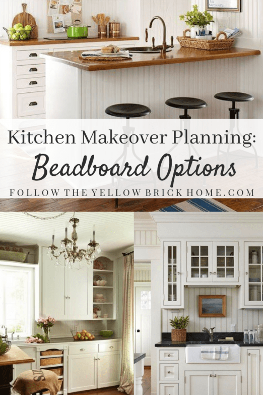Kitchen Makeover Planning: Beadboard Options