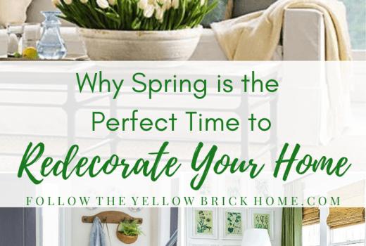 Spring Redecorating Ideas Spring Home Decor Refresh